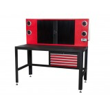 NDS 5 Drawers Tool Work Bench with 5 Storage Drawers and Bluetooth System